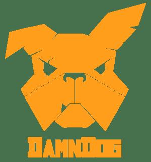 damn dog logo